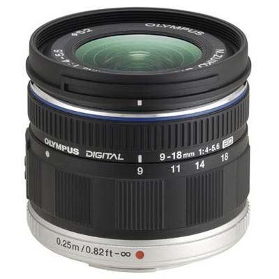 Olympus 9-18mm f4.0-5.6 M.ZUIKO Digital ED Micro Four Thirds Lens