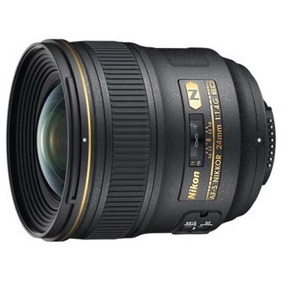 Nikon 24mm f1.4 G AFS ED Lens