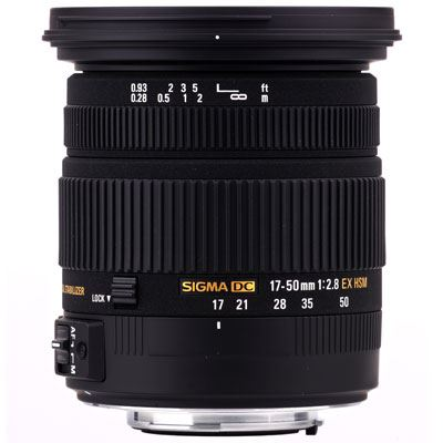 Image of Sigma 17-50mm f2.8 EX DC OS HSM - Sigma SA Fit
