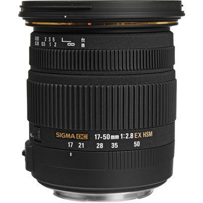 Sigma 17-50mm f2.8 EX DC HSM - Sony Fit