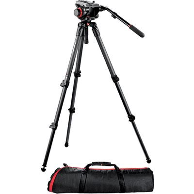 Manfrotto 535K CF Video Tripod with 504HD Head