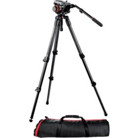 Manfrotto 535K CF with 504HD Head