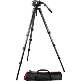 Manfrotto 536K CF with 504HD Head