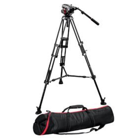 Manfrotto 546BK with 504HD Head