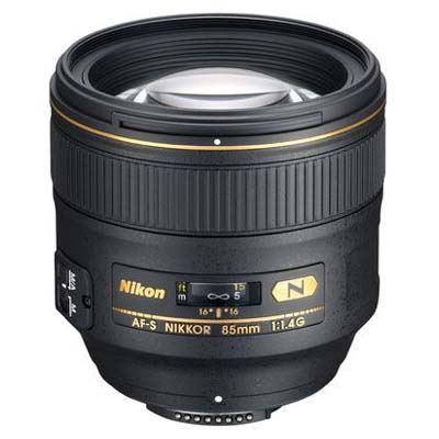 Nikon 85mm f1.4 G AFS Lens