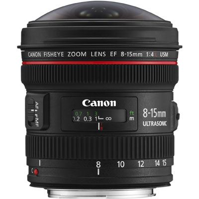 Canon EF 8-15mm f4 L USM Fisheye Lens