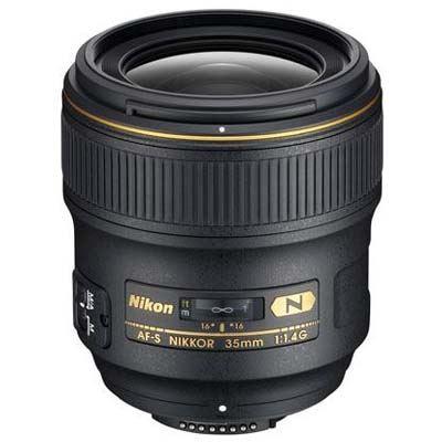 Nikon 35mm f1.4 G AFS Nikkor Lens