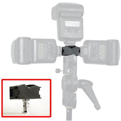 Image of Interfit Tri Shoe Adapter