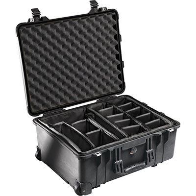 Peli 1520 Case with Dividers Black