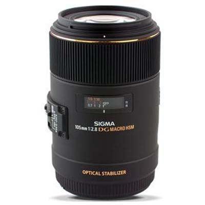 Image of Sigma 105mm f2.8 Macro EX DG OS HSM - Sigma SA Fit