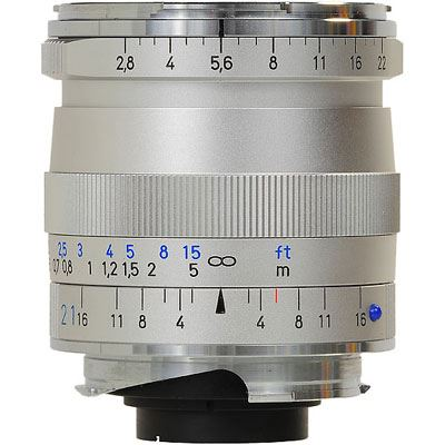Zeiss 21mm f2.8 T* Biogon ZM Silver Lens – Leica Fit