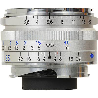 Zeiss 35mm f2.8 T* C Biogon ZM Silver Lens – Leica Fit