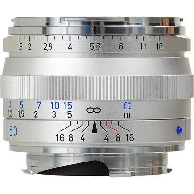 Zeiss 50mm f1.5 T* C Sonnar ZM Silver Lens – Leica Fit