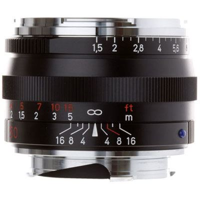 Zeiss 50mm f1.5 T* C Sonnar ZM Black Lens – Leica Fit