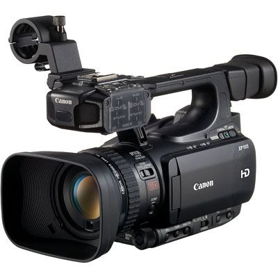 Image of Canon XF105 High Definition Professional Camcorder