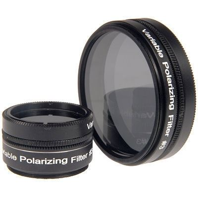 Optical Vision 1.25 Inch Variable Polarising Filter
