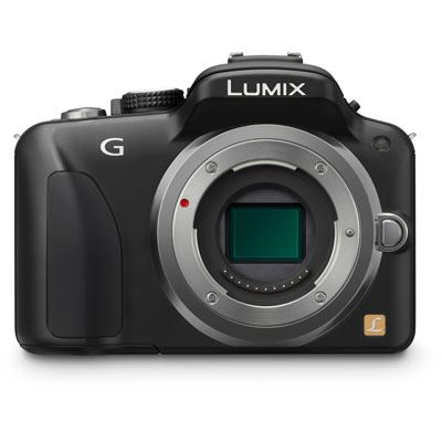 Panasonic LUMIX DMC-G3 Black Digital Camera Body