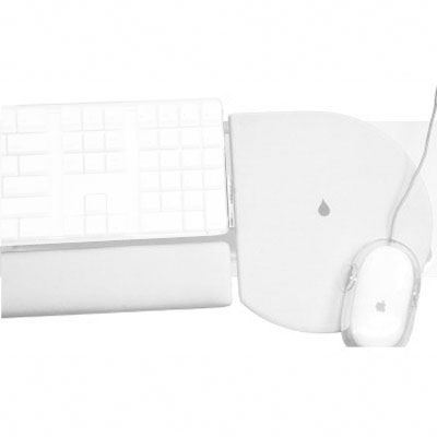 Rain Design iRest Wrist Rest + Mouse Pad - White