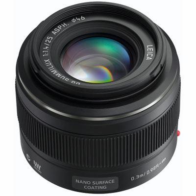 Panasonic 25mm f1.4 Leica DG Summilux Micro Four Thirds lens