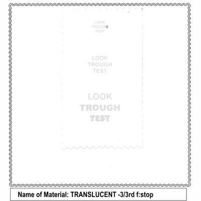 California Sunbounce Pro Screen – Translucent 3/3rd Stop