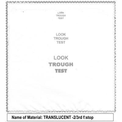 Image of California Sunbounce Mini Screen - Translucent 2/3rd Stop