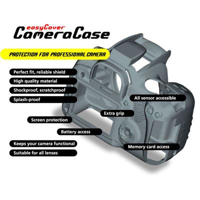 Easy Cover Silicone Skin for Canon EOS 7D