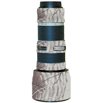 Image of LensCoat for Canon 70-200mm f/4 L non IS - Realtree Hardwoods Snow