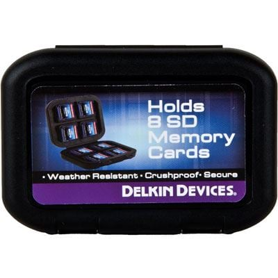 Image of Delkin Secure Digital (SD) Water Resistant Tote