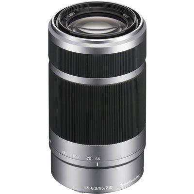 Sony E55-210mm f4.5-6.3 OSS Lens - Silver