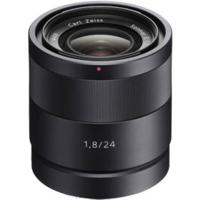 Used Sony E 24mm F1.8 ZA Carl Zeiss Sonnar T* Lens