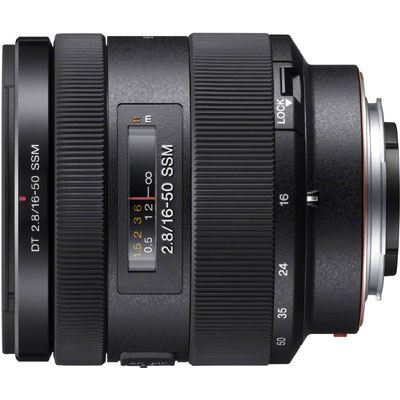 Sony A Mount 16-50mm F2.8 DT SSM Lens