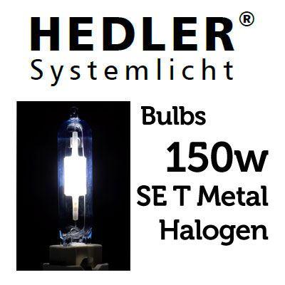 Image of Hedler 150w SE T Metal Halogen Lamp
