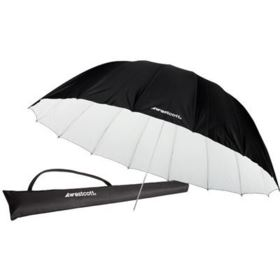 Westcott 220cm (7ft) Parabolic Umbrella - White/Black