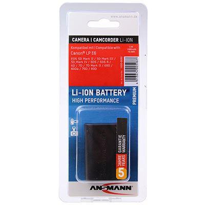 Ansmann A-Can LP-E6 Battery (Canon LP-E6)