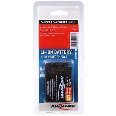 Ansmann ACan LP E8 Battery