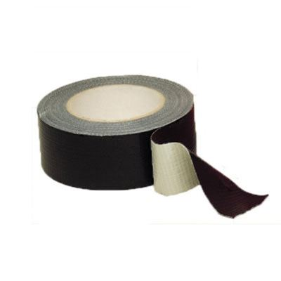 Waterproof Black Cloth Gaffer Tape 50mmx50m - Black