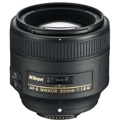 Nikon 85mm f1.8 G AF-S Lens