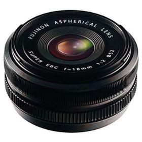 Fuji 18mm f2 R Fujinon Black Lens