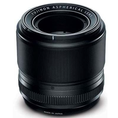 Fujifilm 60mm f2.4 R Macro Fujinon Black Lens