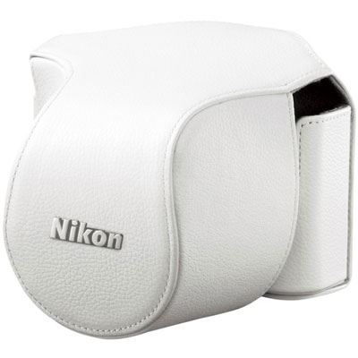 Nikon Body Case Set CB-N1000SB White for Nikon 1 V1 with 10-30mm