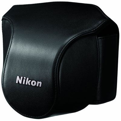 Nikon Body Case Set CB-N1000SC Black for Nikon 1 V1 with 10mm lens