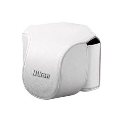 Nikon Body Case Set CB-N1000SD White for Nikon 1 V1 with 10mm lens