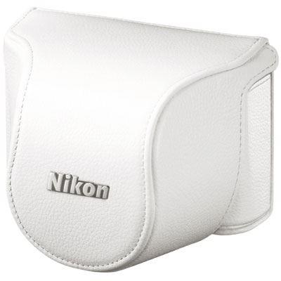 Nikon Body Case Set CBN2000SG White for Nikon 1 J1 with 10mm lens