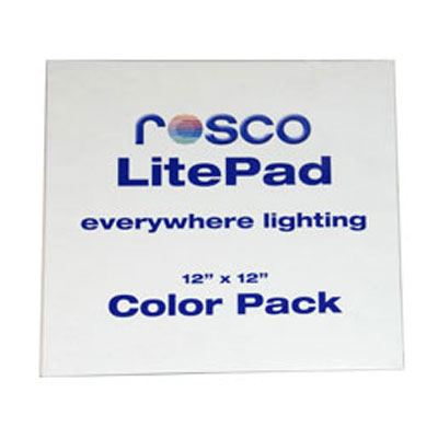 Rosco LitePad 305mm x 305mm 30ml Colour Filter Pack
