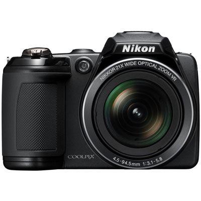 Nikon Coolpix L310 Black Digital Camera