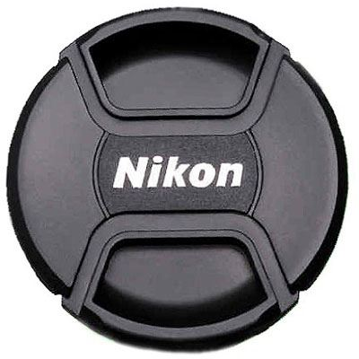 Image of Nikon LC-58 58mm Snap-on Front Lens Cap