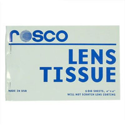 Rosco Lens Cleaning Tissues - 100 Sheets