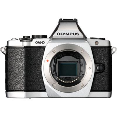 Olympus OM-D E-M5 Digital Camera Body - Silver