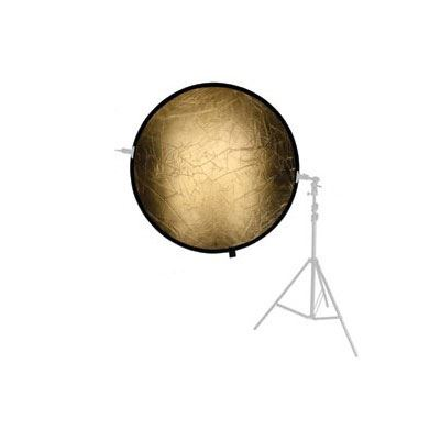Image of Bowens 107cm Gold/Silver Reflector