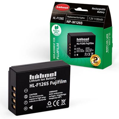 Hahnel HLF126 Battery (Fuji NPW126)
